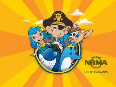 NRMA-characters Mascot Characters and Activity Book