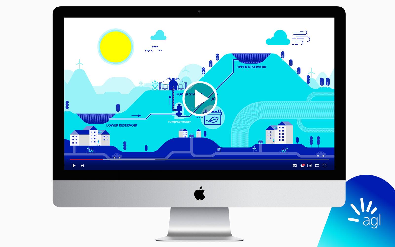 Pumped Hydro animation